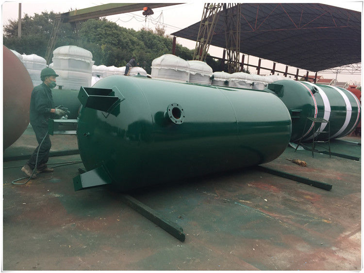Large Volume Compressed Air Storage Tank , 8 Bar - 40 Bar Portable Air Compressor Tank